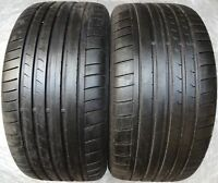 2 pneus d'été Dunlop Sp Sport Maxx GT aiguisé RSC DSST MFS 275/40 R18 99Y