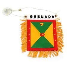Grenada flag automobile rearview mirror or window flag car Home grenada pride