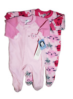 *NWT- GERBER- BABY TODDLER GIRL'S FOOTED BLANKET SLEEPER - 2-PC SET - 3T, 5T