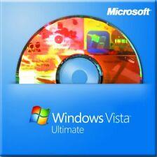 Microsoft Windows Vista Ultimate 32-bit for System Builders OEI [DVD] 1PK. DSP.