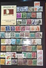 COLLECTION OF STAMPS FROM BRAZIL, INCLUDING MINI SHEET FROM 1978 (BRAPEX III)