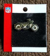 Vintage NFL LA RAIDERS Harley Davidson MOTORCYCLE FOOTBALL PIN