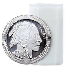 1 oz. Silver American Indian Buffalo Stacker Round - Roll of 20 Rounds SKU45167