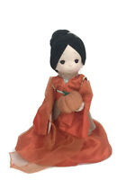"Precious Moments Disney Parks Exclusive Mulan Boo Orange Halloween 12"" Doll"