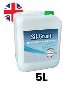 5L SIL-GRUNT Deep-Penetrating Primer Waterproof Tanking Wet Room System