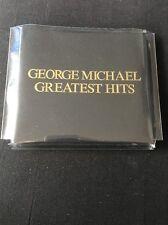 ❣RARE❣️LTD ED EPIC/SONY JAPAN PROMO CD•Greatest Hits~George Michael (Wham!) NM