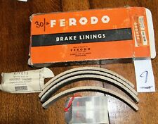 """Bedford & Vauxhall Vintage Ferodo Brake Linings BSB143 Boxed Set.11"""" x 1 1/4""""  9"""