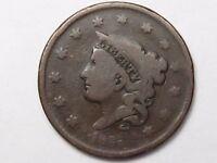 1835 US Coronet Head Large Cent.  #12
