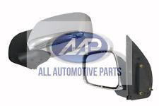 Nissan Navara D40 05-15 *NEW* Left Side Door Mirror Chrome Manual Adjust