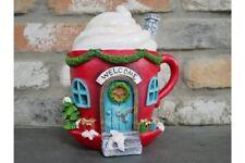 Christmas Fairy Elf House Hot Chocolate Decoration