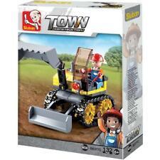Sluban Kids Tractor Excavator Building Blocks 132 Pcs set Building Toy for Kids