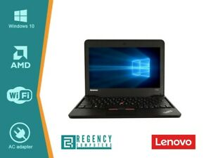 Lenovo ThinkPad X131e AMD E2 1.70GHz 4GB RAM 320GB HDD 11.6'' Win10 Laptop