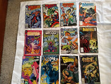DC Lot of 12 Comics including Swamp Thing, The Huntress, Doom Patrol and more