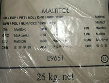 Maltitol Powder -1.0 lb, Low Calorie  sugar substitute, ~80% of the sweetness