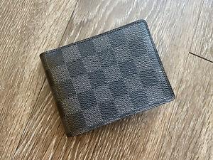 Louis Vuitton Men's Multiple Wallet in Damier Graphite NWOT