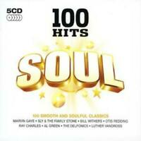 Various Artists : 100 Hits - Soul CD 5 discs (2007) Expertly Refurbished Product