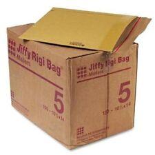 "Sealed Air Jiffy Rigi Bag Mailer - Board - #5 [10.50"" X 14""] - Self-sealing -"