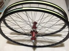 Industry Nine Legacy Hub Single Speed 29er Wheels DT Rim Wheelset Red i9 29 700c