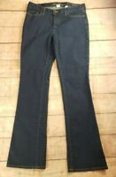 DKNY JEANS Womens 12 Soho Medium Wash Bootcut Blue Jeans