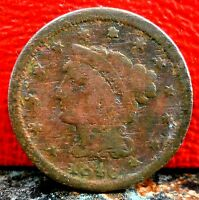 Nice Early Better Date 1846 Braided Hair Large Cent