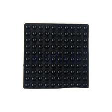 200Pcs Black Silicone Self-Adhesive Rubber Feet Semicircle Bumpers Buffer Pad EW