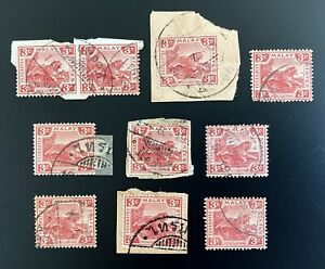 Siam Thailand Offices In Malay Malaysia Used Kedah Collection Very RARE