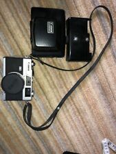 Canon Canonet Vintage Camera With Case