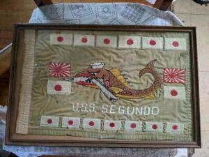 USS Segundo Battle Flag/Original/WW II/USN/US Navy/Vintage