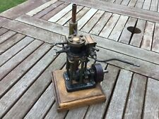 Live steam marine engine