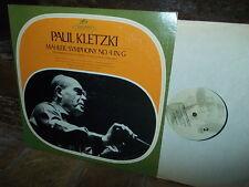 MAHLER: Symphony n°4 > Loose Philharmonia Kletzki / Seraphim Angel USA stereo