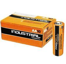 10 Batterie Duracell Industrial Pile Alcaline Stilo AA 1.5 Volts LR6  ex Procell