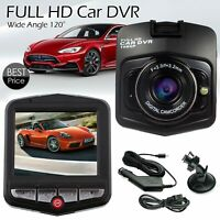 1080P HD Dash Cam DVR Car Night Vision Camera Video Recorder 2.4? Cam G Sensor