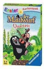 32 Blatt Ravensburger Kinder Erster Kartenspaß Der Maulwurf Quartett 20435
