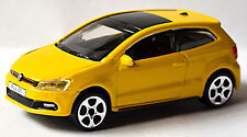 VW Volkswagen Polo V GTI Type 6R - 2010-14 jaune jaune 1:43