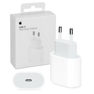 Adaptateur prise secteur USB-C original chargeur rapide Iphone Ipad (MU7V2ZM/A)