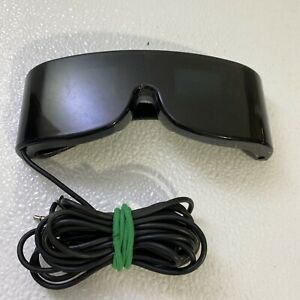 Sega Master System 3D Glasses ONLY No Adapter Missing one Ear Piece Broken Wire
