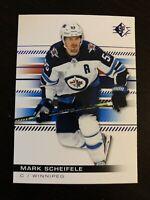 Mark Scheifele 2019-20 Upper Deck SP Authentic Blue #66 Winnipeg Jets