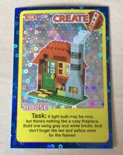 Sainsburys Lego Incredible Inventions Foil Card 104 House