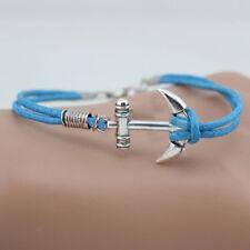 Femme/homme Bracelet Corde Bateau bracelet Porte-bonheur Idée Cadeau ANCRE so
