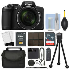 Nikon Coolpix B600 16MP Digital Camera 60x Optical Zoom Black Full-HD + 16GB Kit
