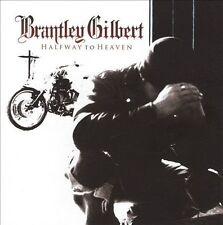 Brantley Gilbert Halfway to Heaven CD Rare Average Joes ORIGINAL  2010