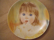 """Fascination""~ 1st issue Frances Hook Legacy Collector Plate ~E.M. Knowles China"