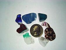 Assorted Surf Tumbled Sea Glass Lot 2052