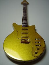 Queen - Brian May - Signature Gold Miniature Guitar