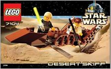 INSTRUCTION MANUAL For LEGO 7104 - Star Wars: Desert Skiff - INSTRUCTION MANUAL