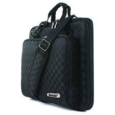 iPad 3 3G Tablet Case Sleeve Cover Shoulder bag Memory foam Black Checkered k