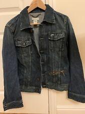 diesel denim jacket Size S