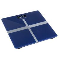 Digital Electronic Scale Body Fat LED Bathroom Gym Health Weight Black