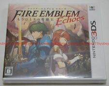 New Nintendo 3DS Fire Emblem Echoes Shadows of Valentia Japan F/S 4902370536430