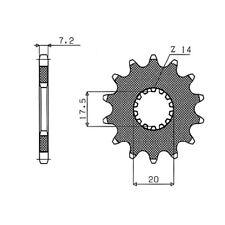 PIGNONE S+2 AC P428-D16   01/06 MZ - MUZ SX 125 54.2120216
